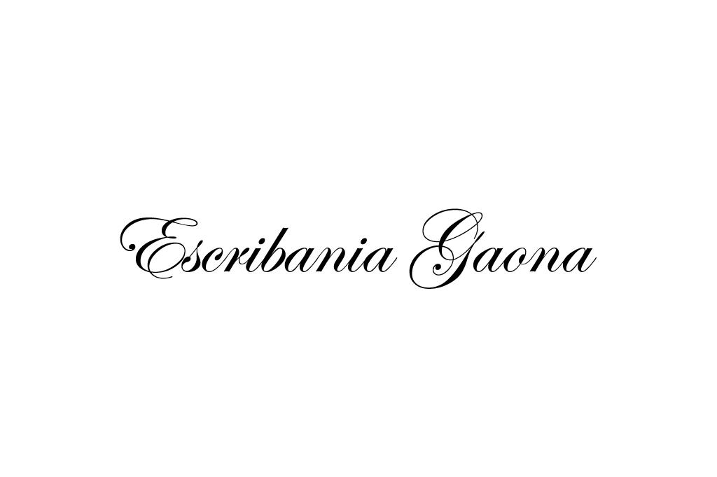 escribania-gaona
